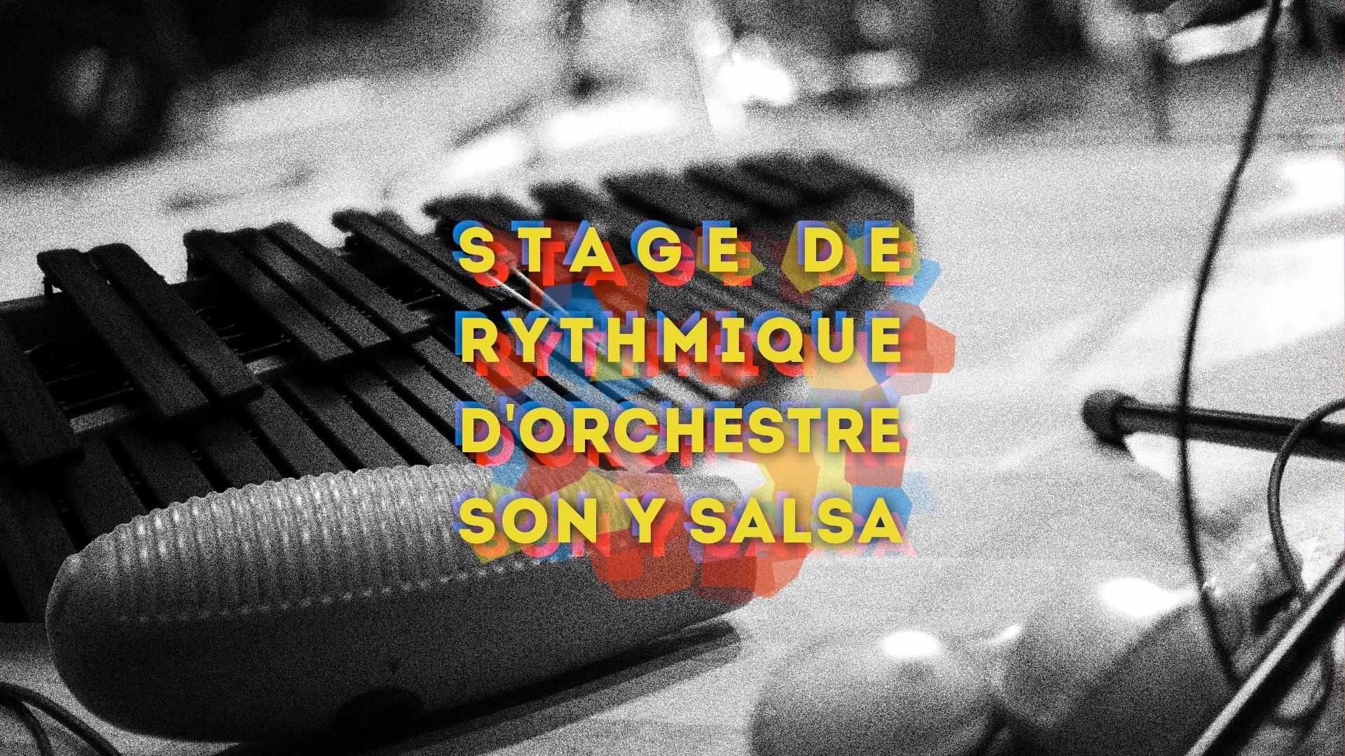Stage de rythmique salsa pour les percussionnistes – Son y Salsa